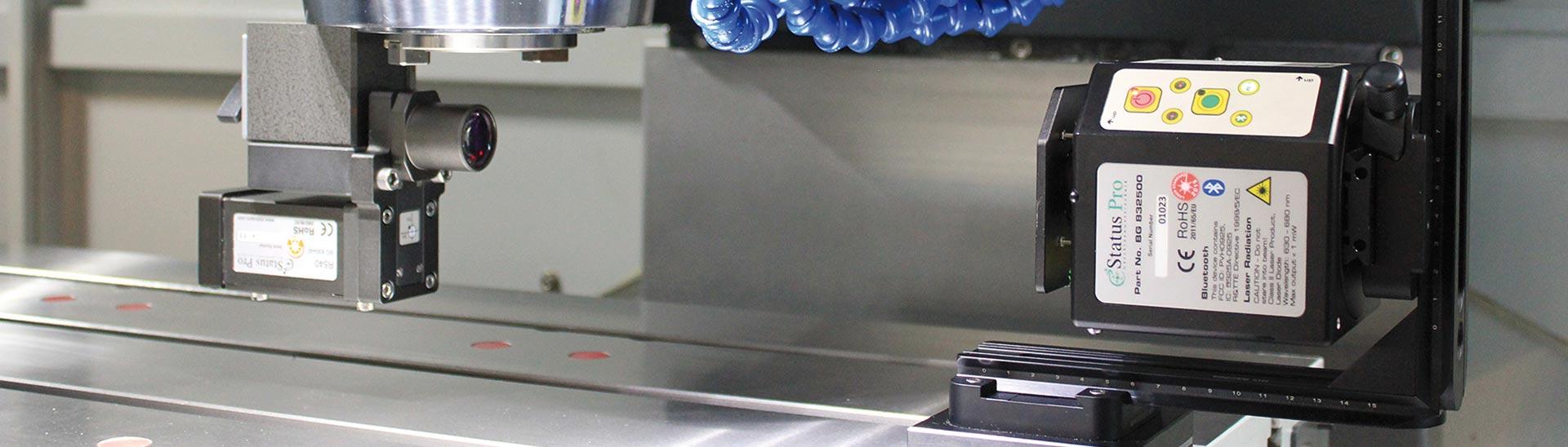 Ausrichten von Werkzeugmaschinen