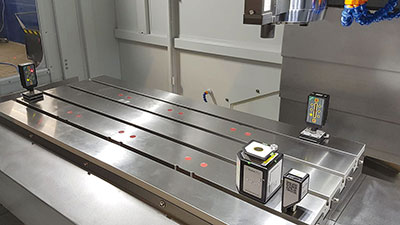 Ausrichten und Kalibrieren von Werkzeugmaschinen