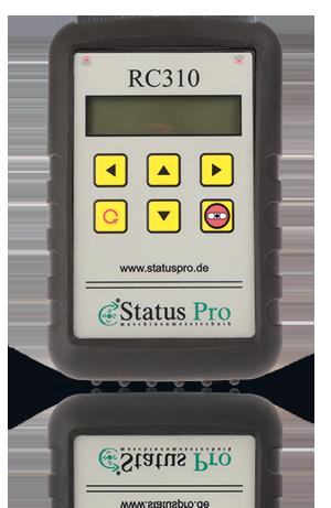 RC310,  Fernbedienung für T330 und R310 Monitor