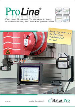 Ausrichtung und Kalibrierung von Werkzeugmaschinen mit ProLine