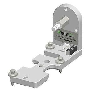 Bodenhalter für R310 Laser Empfänger zur Aufnahme von Referenzlinien an Papiermaschinen, Druckwerken, Folienanlagen