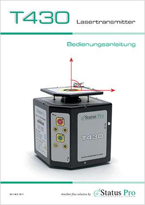 T430 Lasertransmitter Bedienungsanleitung