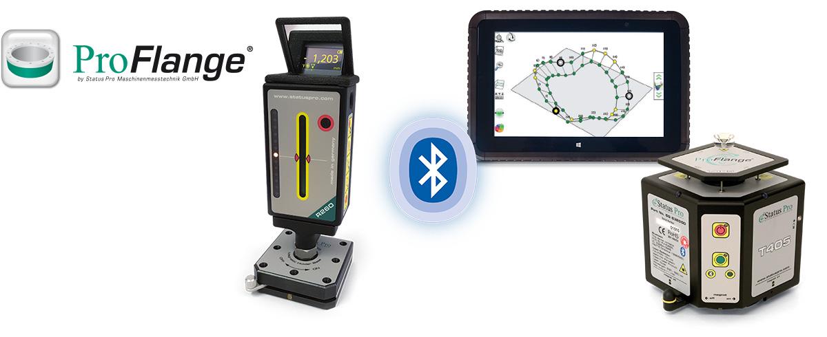 Flanschvermessung in der Industrie mit Lasermesstechnik und Photogrammetrie